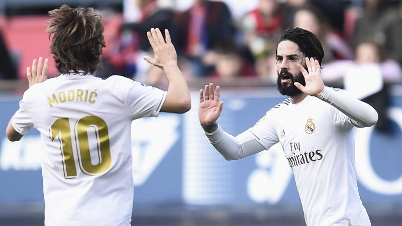 'Isco needs to score more goals' - Zidane calls for Real Madrid midfielder to step up