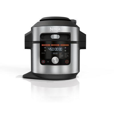 The Ninja®Foodi® XL Pressure Cooker Steam Fryer with SmartLid™ offers three cooking modes and 14 cooking functions under one lid. It is available in an 8-qt capacity for $329.99 at NinjaKitchen.com.
