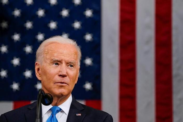 President Joe Biden told Congress that after Covid-19, the US must turn to rebuilding the middle class