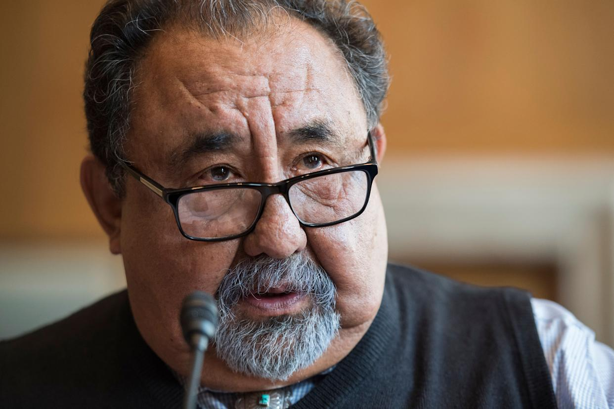 Rep. Raúl Grijalva (D-Ariz.), the likely next chairman of the House Natural Resources Committee, said he's skeptical of the resolution's legal footing. (Photo: Tom Williams via Getty Images)