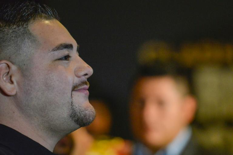 Andy Ruiz said in Riyadh on Monday that 'all the pressure' will be on Anthony Joshua when they fight on Saturday