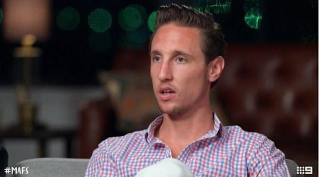 Ivan hit out at producers during filming. Photo: Channel Nine