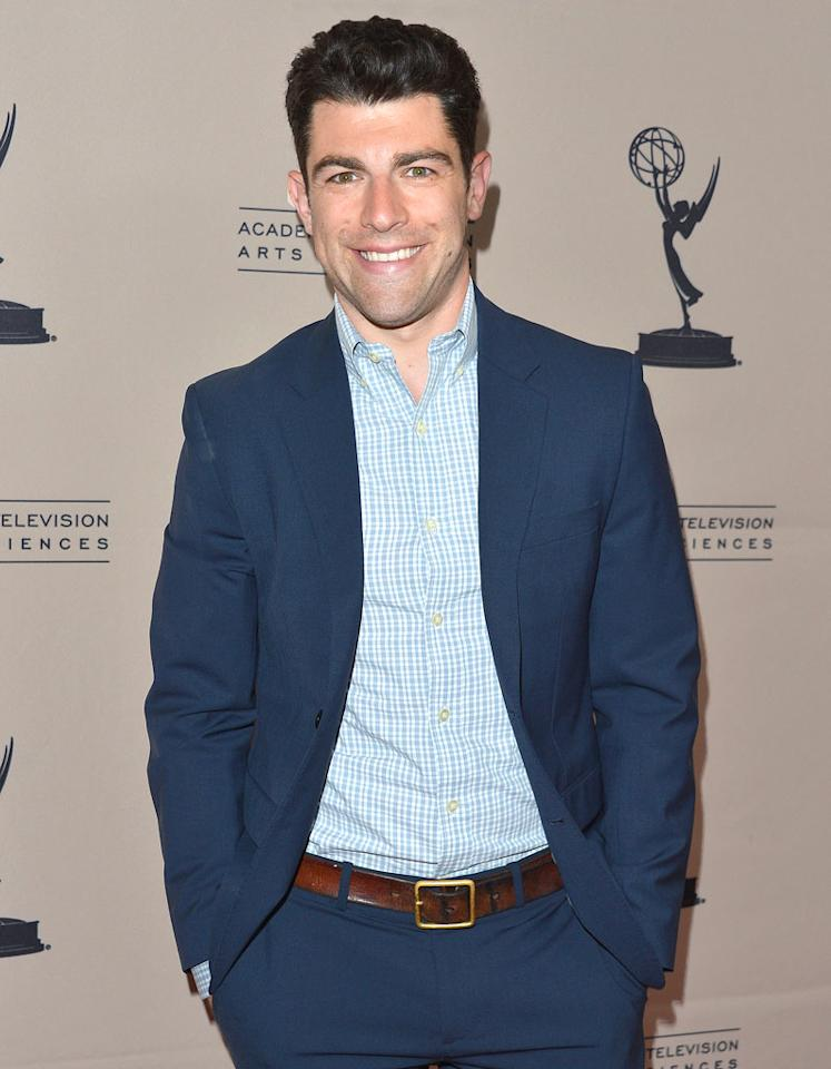 """Max Greenfield (""""New Girl"""") turns 32 on September 4."""