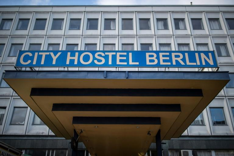 The City Hostel Berlin, popular with backpackers in the German capital, has been ordered to close due to its links to North Korea (AFP Photo/Odd ANDERSEN)