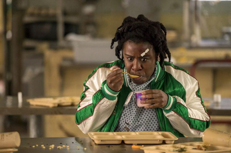 Uzo Aduba as Suzanne 'Crazy Eyes' in Netflix's Orange Is The New Black. (Credit: Netflix)