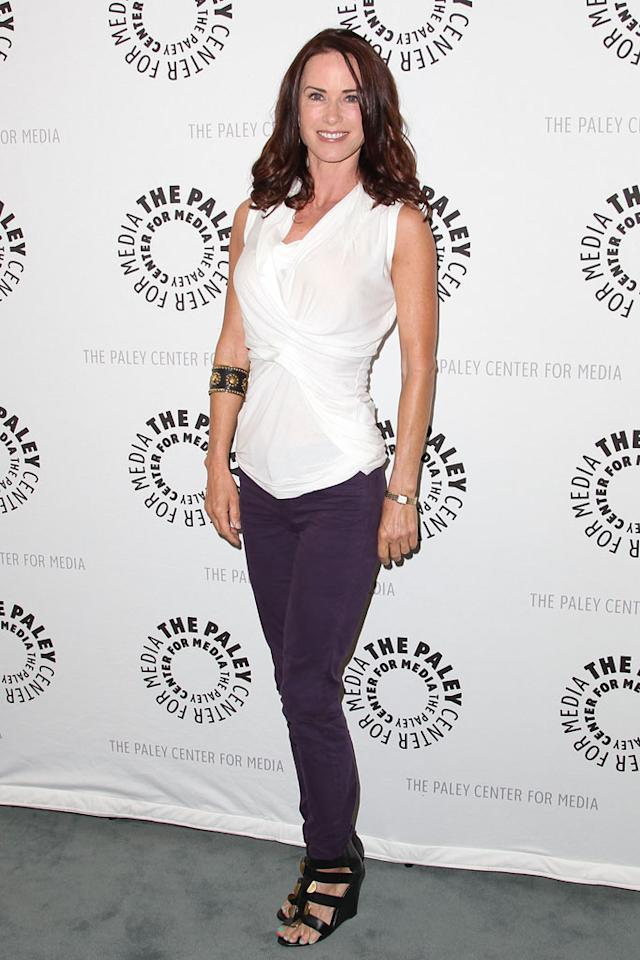 "Debrah Farentino attends the The Paley Center For Media Presents An Evening With Syfy's ""Eureka"" at The Paley Center for Media on July 9, 2012 in Beverly Hills, California."