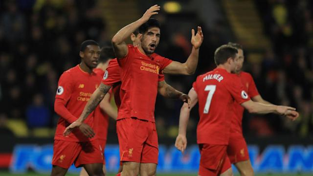 Emre Can's stunner earned Liverpool a priceless three points at Watford and the praise of his manager Jurgen Klopp.
