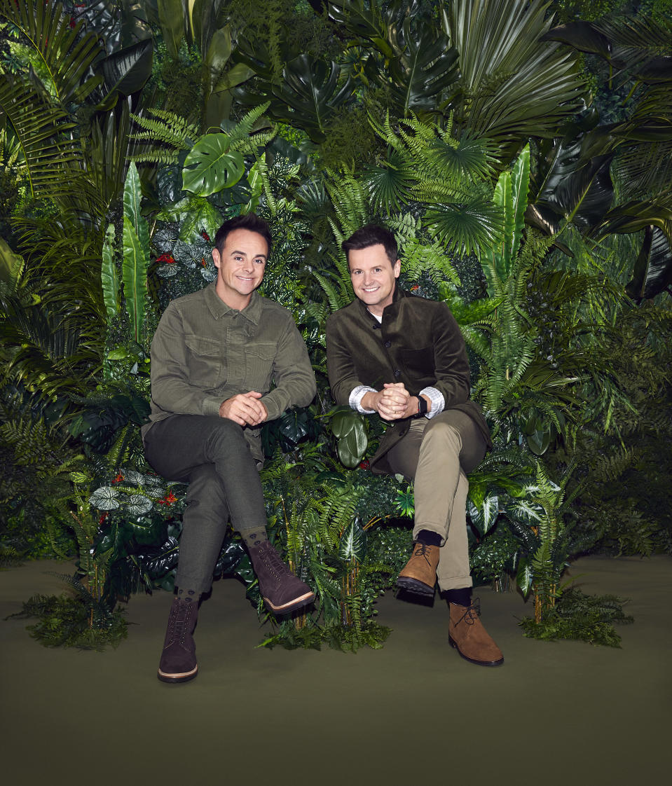 Ant and Dec explained to viewers that the app votes wouldn't count. (ITV)