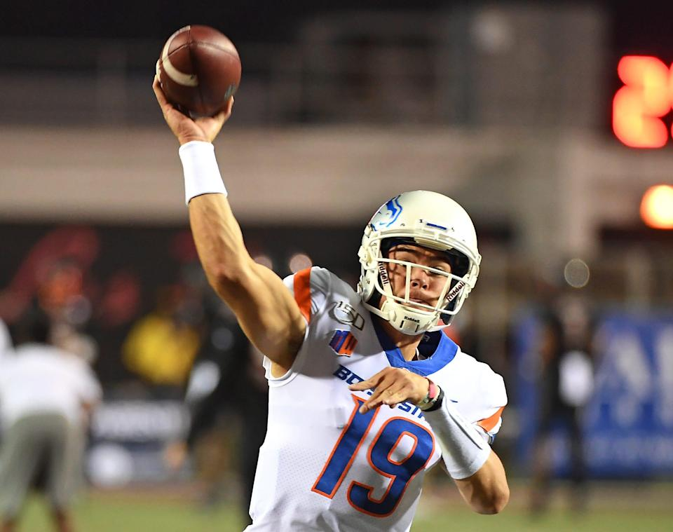 Quarterback Hank Bachmeier would seems to have the edge at Boise State.