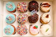 """<p><strong><a href=""""https://www.yelp.com/biz/cupcake-delirium-pineville"""" rel=""""nofollow noopener"""" target=""""_blank"""" data-ylk=""""slk:Cupcake Delirium"""" class=""""link rapid-noclick-resp"""">Cupcake Delirium</a>, Pineville </strong></p><p>""""So cupcake delirium is amazingly tasty. The cupcakes are specialty cupcakes with something special per creation. The owner is very pleasant, she make the visits so awesome (as if that was possible) with her smile and eager explanations of the various cupcake creations."""" – Yelp user <a href=""""https://www.yelp.com/user_details?userid=XUwYlVRuyoImgtaw8Cjztg"""" rel=""""nofollow noopener"""" target=""""_blank"""" data-ylk=""""slk:Bianka M."""" class=""""link rapid-noclick-resp"""">Bianka M. </a></p><p>Photo: Yelp/<a href=""""https://www.yelp.com/user_details?userid=JmRcyDo30Otsz8Mh-dAjgQ"""" rel=""""nofollow noopener"""" target=""""_blank"""" data-ylk=""""slk:Carrie A."""" class=""""link rapid-noclick-resp"""">Carrie A.</a></p>"""