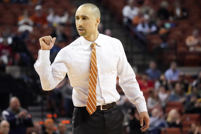 Texas Longhorns head coach Shaka Smart in the second half of the game against the TCU Horned Frogs at Frank C. Erwin Jr. Center. (USA Today)