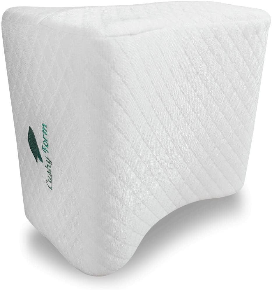 <p><span>Cushy Form Knee Pillow for Side Sleepers</span> ($25, originally $35)</p>