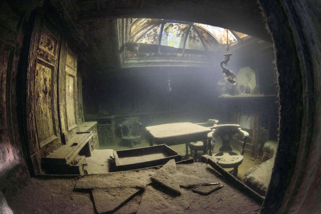 <p>Now, these stunning images have been captured 107 years after the sinking, when a small group of divers revisited the vessel. (Photo: Becky Kagan Schott/Caters News) </p>