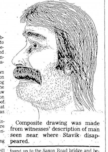 PHOTO: A composite sketch of the suspect responsible for Stavik's murder. (Whatcom County Sheriff's Office)