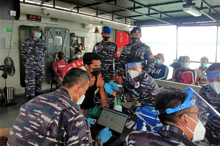 About 1,000 seafarers have been jabbed so far