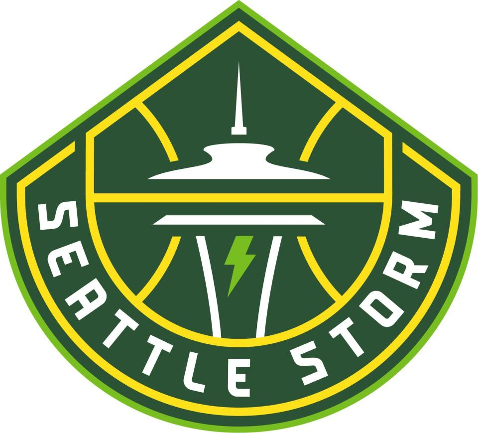 The Seattle Storm's new logo.