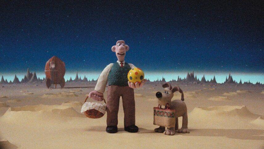 Nick Park's <i>A Grand Day Out</i> was his graduation film. (Aardman)
