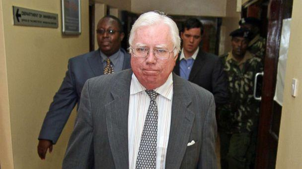 PHOTO: Jerome Corsi arrives at the immigration department in Nairobi, Kenya, Oct. 7, 2008. (AP, FILE)