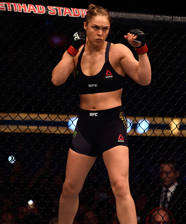 Ronda Rousey was one of the most-searched people in 2015.