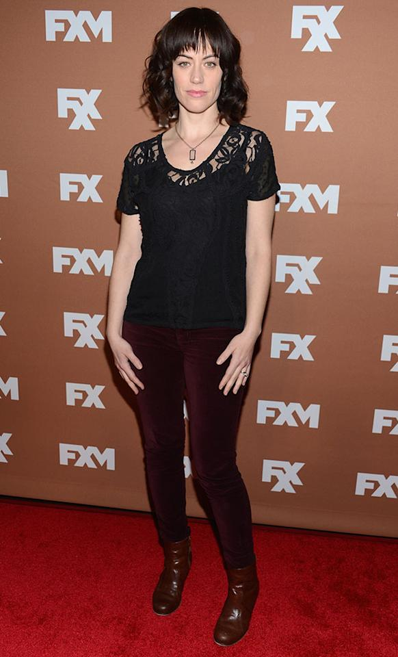Maggie Siff attends the 2013 FX Upfront Bowling Event at Luxe at Lucky Strike Lanes on March 28, 2013 in New York City.
