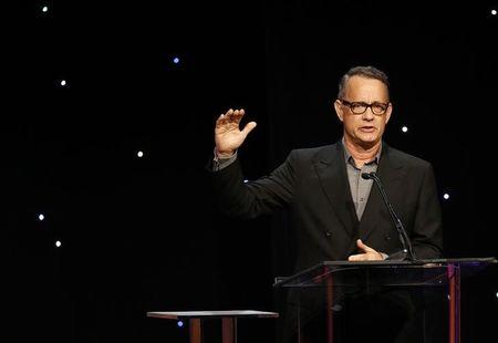 Actor Hanks speks at the 64th Annual ACE Eddie Awards in Beverly Hills