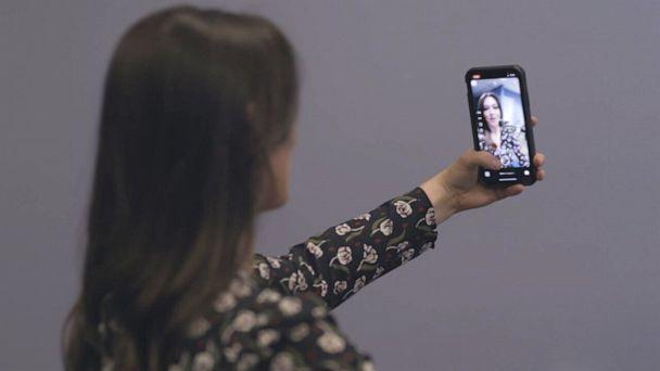 PHOTO: Snapchat is one of many apps that offers instant enhancements to your appearance with the touch of a button. (ABC)