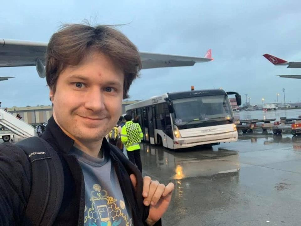 Virgil Griffith, a crypto expert, travelled to North Korea without permission and gave a presentation on how it can use virtual money to avoid sanctions (Facebook/Virgil Griffith )