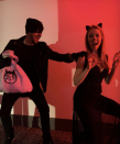 """<p>Calling all black cats to stay in (or not) this Halloween because the Cat Burglar is on the loose!</p><p><a class=""""link rapid-noclick-resp"""" href=""""https://www.amazon.com/Merroyal-Glitter-Headband-Halloween-Hairband/dp/B06XJ8M724?tag=syn-yahoo-20&ascsubtag=%5Bartid%7C10072.g.27868801%5Bsrc%7Cyahoo-us"""" rel=""""nofollow noopener"""" target=""""_blank"""" data-ylk=""""slk:SHOP HEADBAND"""">SHOP HEADBAND</a></p>"""