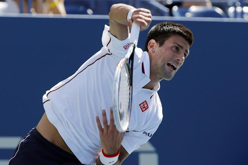 Tennis - Djokovic breezes into US Open third round