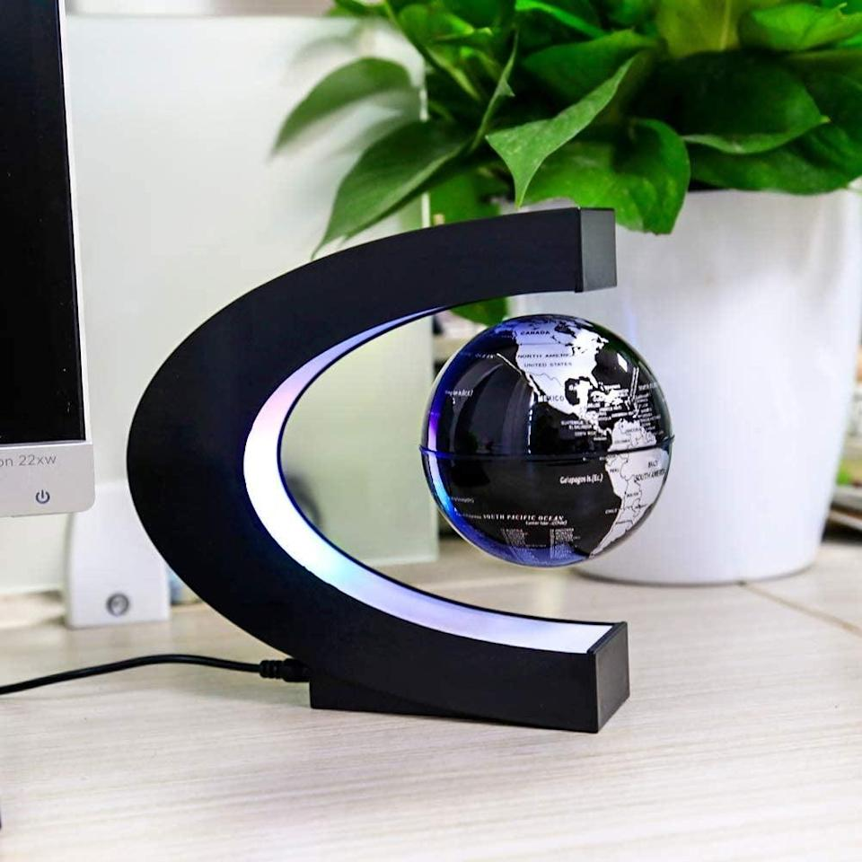 <p>This <span>Levitation Floating Globe</span> ($39, originally $46) is ideal for the person who loves geography. They can admire all the places they've been.</p>