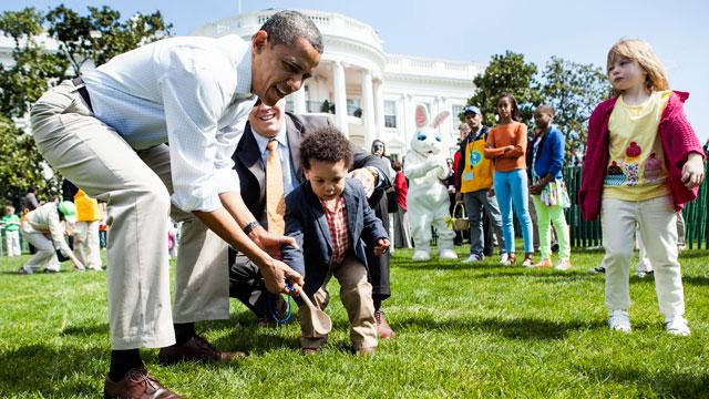 Sequestration Hits Communities, but Not White House Egg Roll
