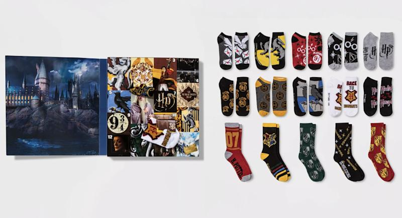 Harry Potter castle socks (Photo: Target)