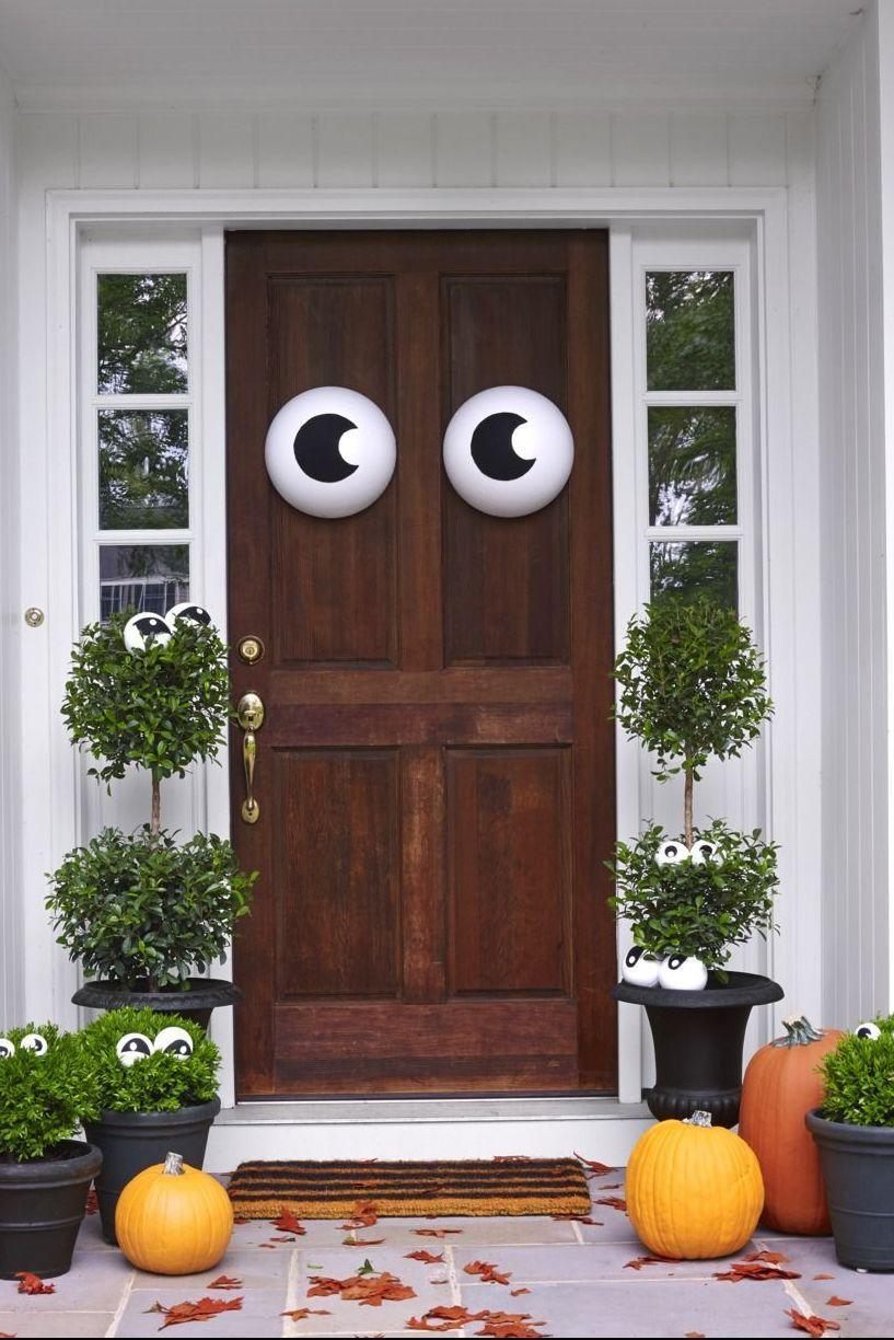 """<p>When in doubt, rely on googly eyes to amp up your Halloween decor. Place them on your front door and in planters for a fun and festive look.</p><p><a class=""""link rapid-noclick-resp"""" href=""""https://www.amazon.com/Decora-Googly-Plastic-Adhesive-Decorations/dp/B071VR7NDX/?tag=syn-yahoo-20&ascsubtag=%5Bartid%7C10055.g.4602%5Bsrc%7Cyahoo-us"""" rel=""""nofollow noopener"""" target=""""_blank"""" data-ylk=""""slk:SHOP GOOGLY EYES"""">SHOP GOOGLY EYES</a></p>"""