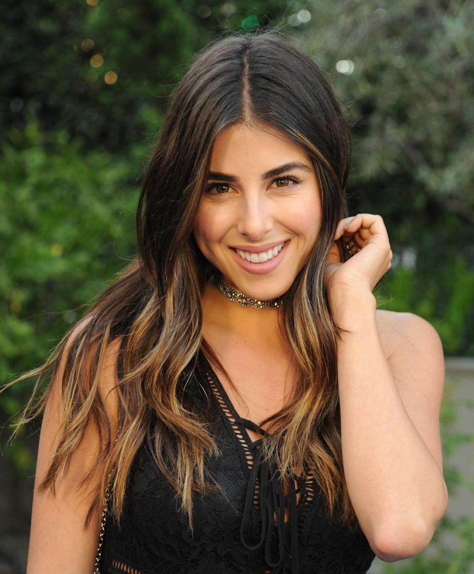 "<p><strong>Real name:</strong> <a href=""https://www.imdb.com/name/nm1508859/bio"" rel=""nofollow noopener"" target=""_blank"" data-ylk=""slk:Daniella Monet Zuvic"" class=""link rapid-noclick-resp"">Daniella Monet Zuvic</a></p><p>It seems that Trina from <em>Victorious</em>'s actual last name is Zuvic, while Monet is her middle name.</p>"