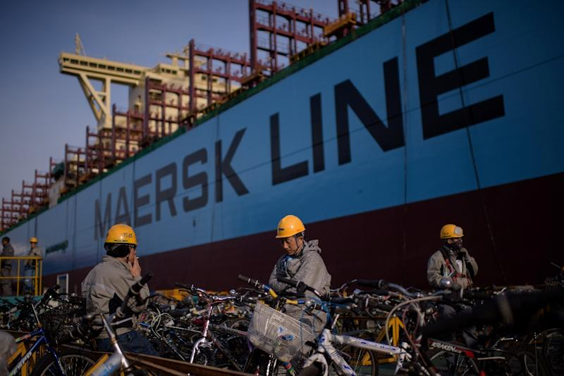 A.P. Moeller-Maersk says it does not employ the crew or own the vessel seized by Iran