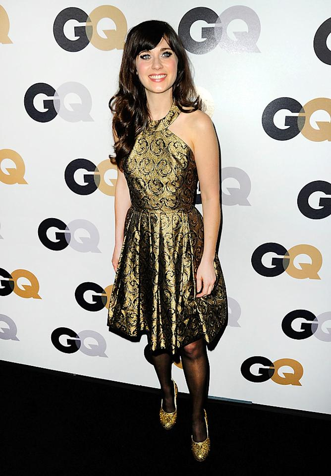 "4. <a target=""_blank"" href=""http://www.askmen.com/specials/2012_top_99/12-zooey-deschanel.html"">Zooey Deschanel, 32</a><br><br>There's just something about Zooey! Men want the quirky actress-singer, while women want to be her. She's like the <a target=""_blank"" href=""http://www.askmen.com/celebs/men/celeb_profiles_entertainment/37_ryan_gosling.html"">Ryan Gosling</a> of females. Someone should introduce them."