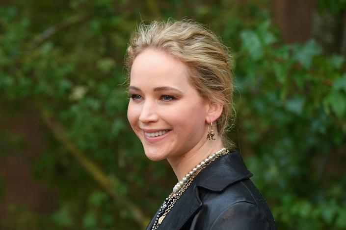 In a new podcast, Jennifer Lawrence reflected on her 2013 viral fall at the Academy Awards. (Photo: Stephane Cardinale - Corbis/Corbis via Getty Images)