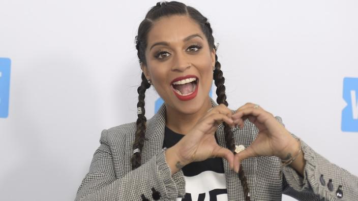 Lilly Singh (Photo by Richard Shotwell/Invision/AP)