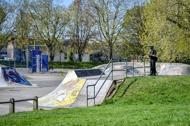 Some skate parks could reopen after the latest government guidance (Ben Birchall/PA)