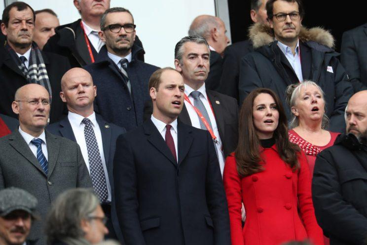 kate middleton wears a carolina herrera coat.