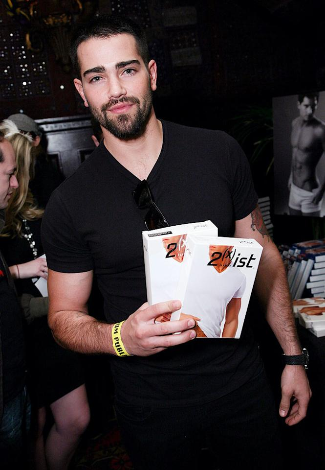 "When you appear on-camera in <i>only</i> your undies as often as 31-year-old Jesse Metcalfe did during his stint on ""Desperate Housewives,"" it makes sense to stock up. Tiffany Rose/ <a href=""http://www.wireimage.com"" target=""new"">WireImage.com</a> - January 14, 2010"