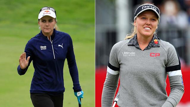 Brooke Henderson and Lexi Thompson will be looking to make the most of three majors in the next seven weeks. They each have a chance to reach No. 1 at the KPMG Women's PGA Championship.
