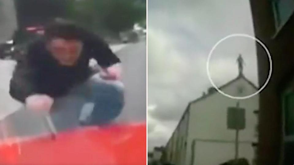 In the UK people on monkey dust have been filmed running into cars and jumping off buildings. Source: 7 News