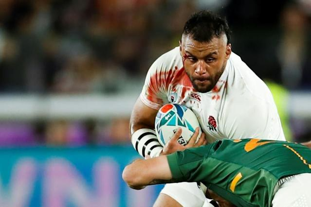 England's Billy Vunipola in action at the 2019 World Cup in Japan (AFP Photo/Odd Andersen)