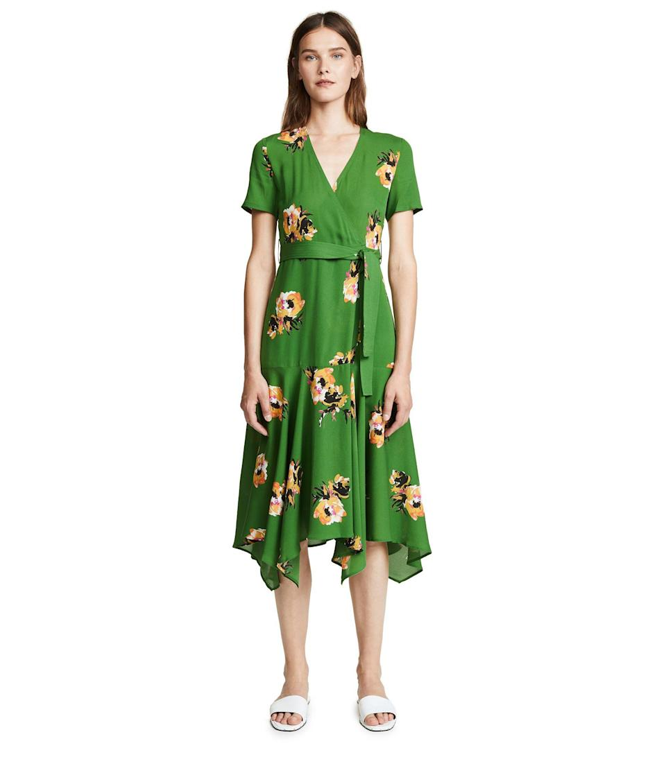 Who else is into this powerful shade of green? Available in sizes 0 to 8.