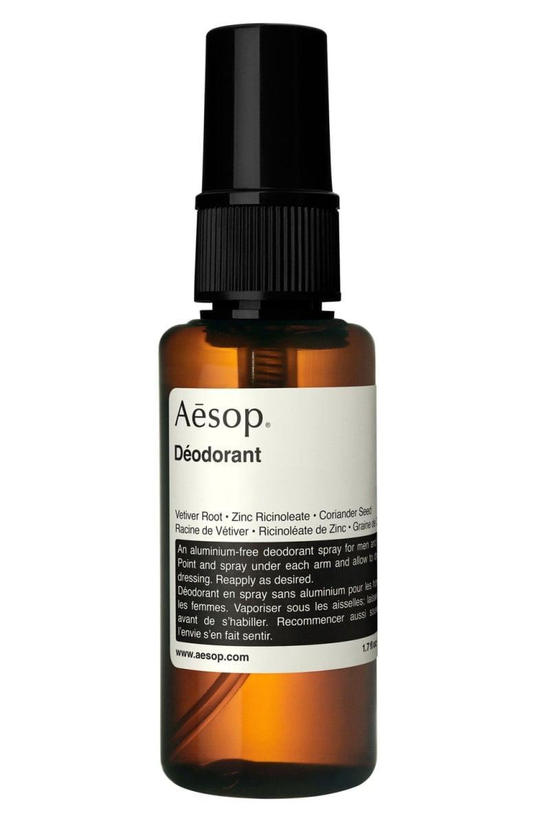 <p>This innovative, sophisticated <span>Aesop Spray Deodorant</span> ($35) is exactly what I'd want to have in my medicine cabinet.</p>