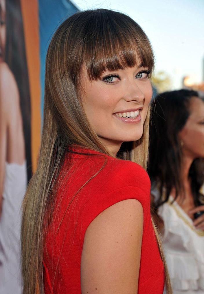 <p>After decades of teased and wispy bangs, the '70s fringe bang made a comeback in 2011. The style was simple, with long overgrown pieces that covered your eyebrows, and super chic. </p>