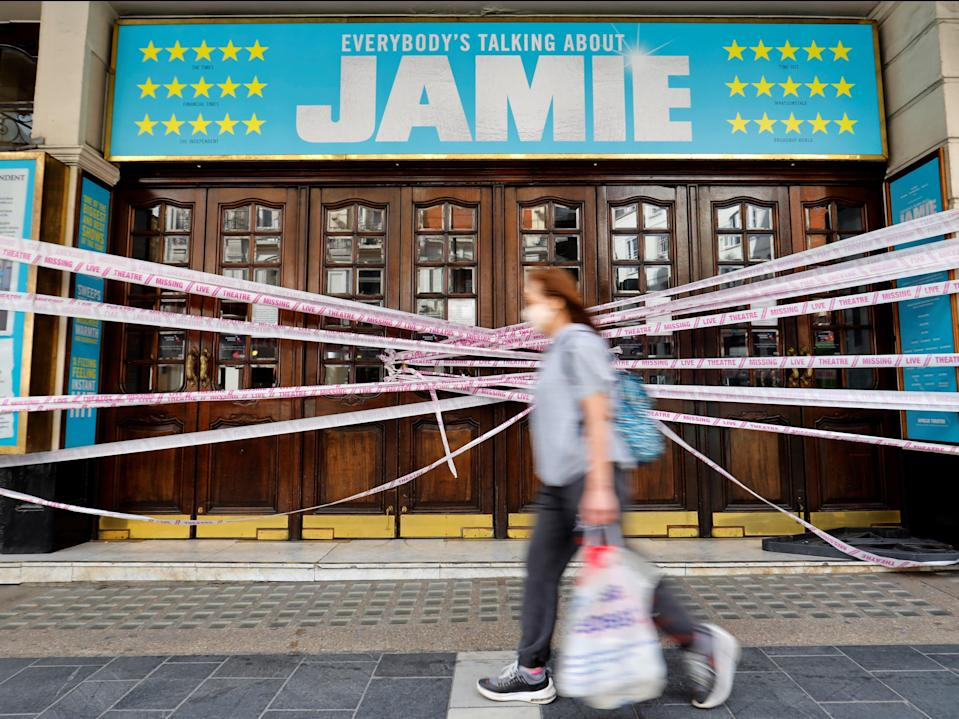 Theatres are preparing to reopen (AFP via Getty Images)
