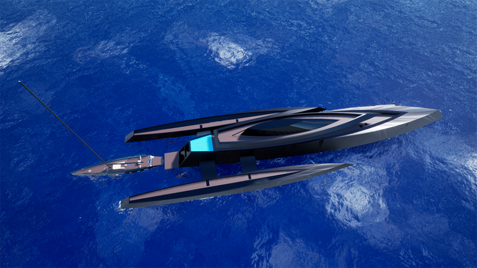 Bond Girl has a private dock and infinity pool to the aft. - Credit: Hannah Hombergen and George Lucian