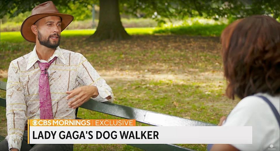 Lady Gaga's dog walker recalls night he was shot by dognappers in his first TV interview